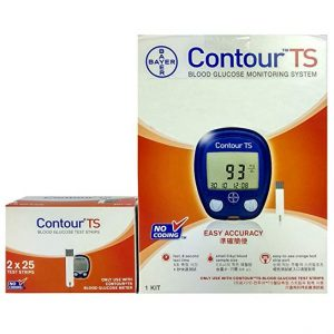 Best Contour TS Meter with 10 Test Strip