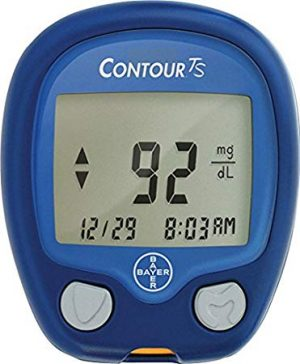 Contour TS Meter with 10 Test Strips Free