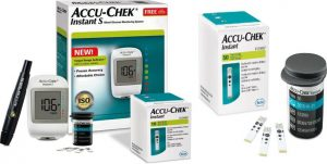 AccuSure Simple 100 Test strips