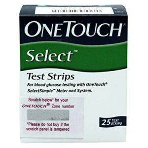 Best OneTouch Select Test 25 Test Strips