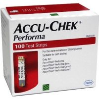 Best Accu Chek Performa Test Strips 100