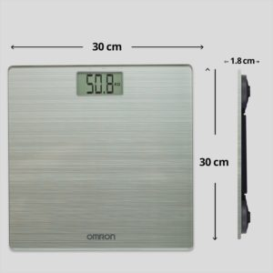 Omron Ultra Thin Automatic Personal Digital Weight Scale With Large LCD Display HN-286