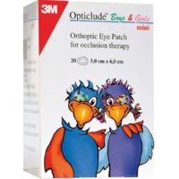 3M Opticlude Eye Patch 5.7 cm x 8.2 cm (MAXI)