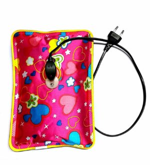 Elanor Electric Rechargeable Heating Gel Bottle Pouch Massager For Body Pain Relief
