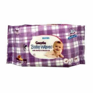 Hicks Gentle Baby Wipes With Almond Oil