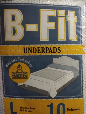 Best B Fit Underpads Large Size