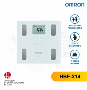 Digital Personal Weighing Scale Monitor HBF-214 Omron
