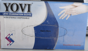Latex Examination Gloves Large size