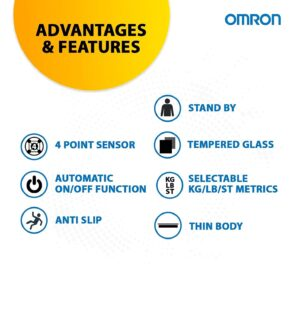 Omron Digital Personal Weighing Scale